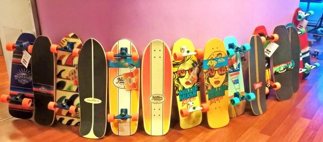 Miller Surfskate quiver