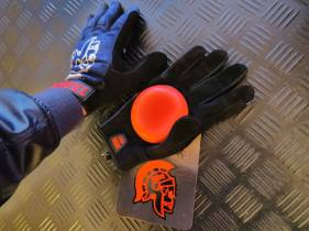 Venom Trojan denim gloves