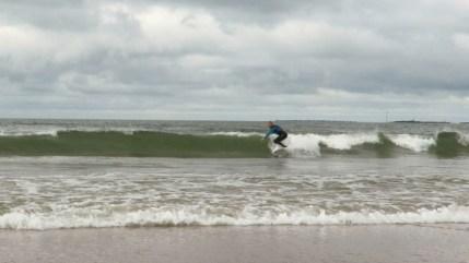 surfing finland longboard