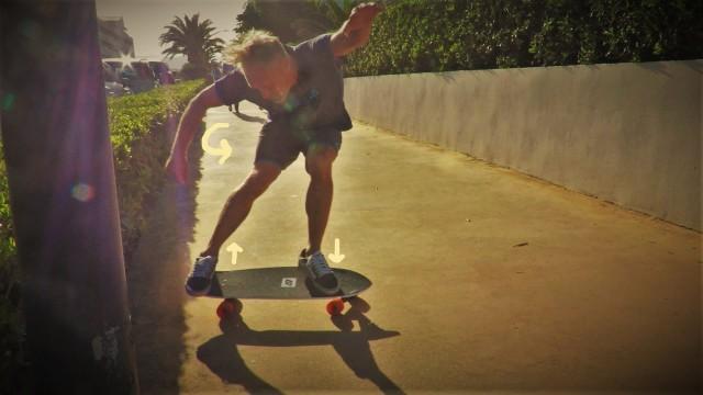 Surf skate slash