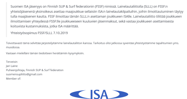 ISASURF Suomi