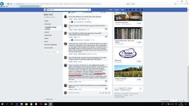 Suomen lainelautaliitto kysyy passeja
