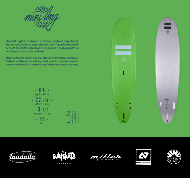 Inio Minilong softboard