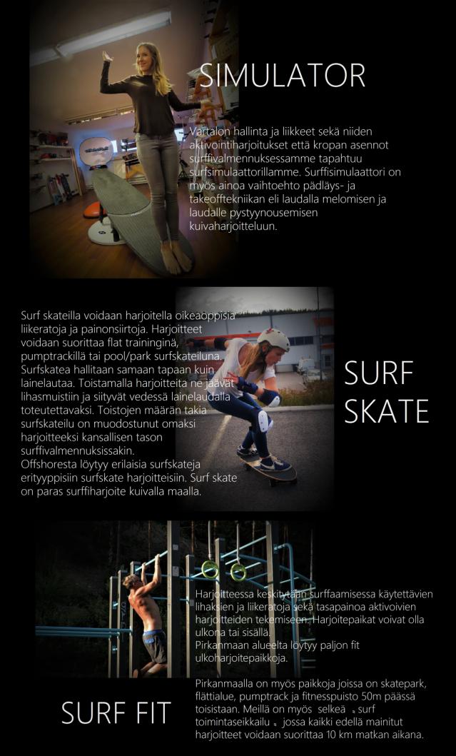 Surf valmennus