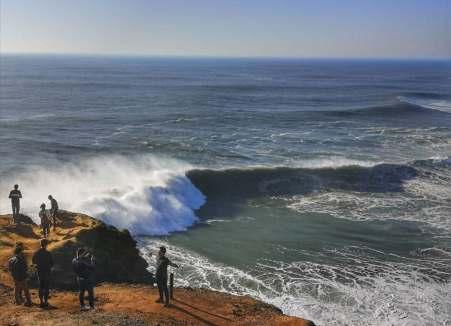 Nazare surf spot