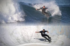 surf skating vs surfing