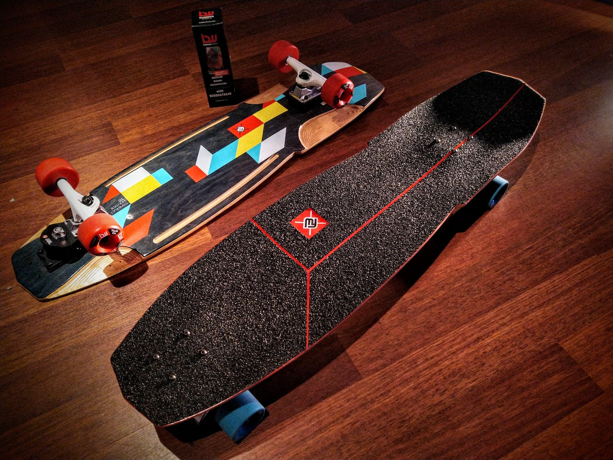 fw thruster system surfskate offshore edition 38