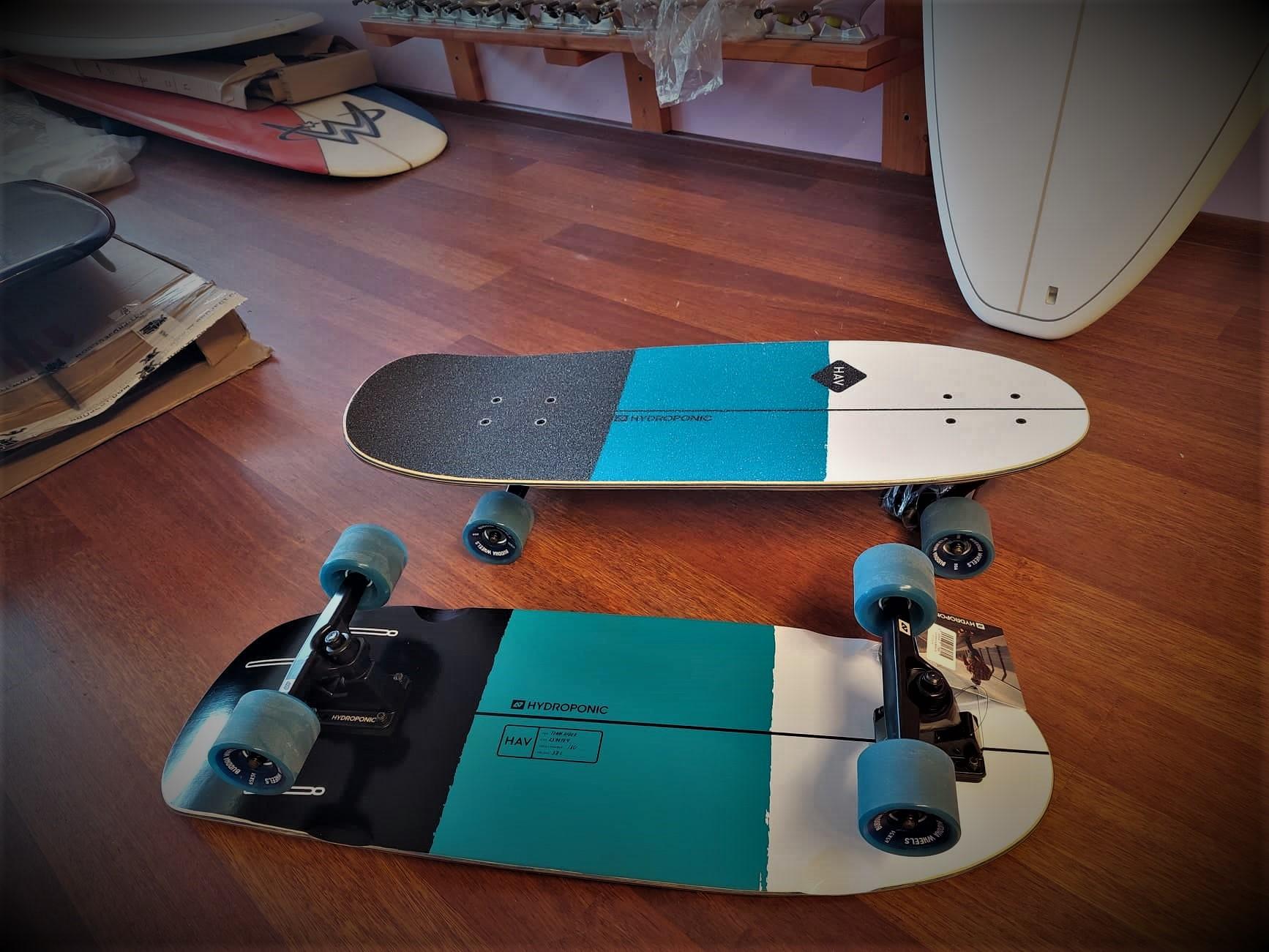 Hydroponic HAV surfskate